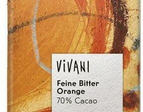 Vivani Organska Čokolada Narandža Kakao 70% 100g