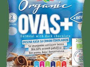 Organska Ovsena Kaša sa Crnom Čokoladom Flory 50g