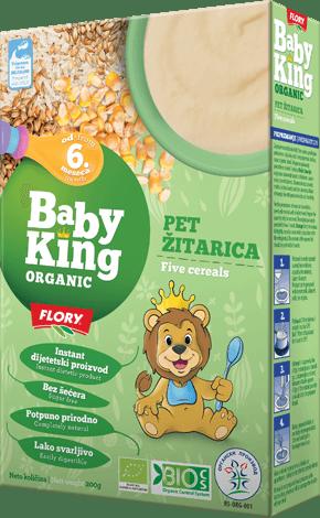 organske cerealije od 5 zitarica baby king