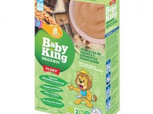 Organske Cerealije od Pirinča i Pšenice sa Čokoladom Baby King 200g