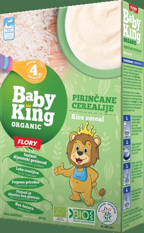 organske pirincane cerealije baby king