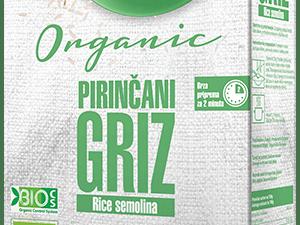 Organski Pirinčani Griz Flory 300g
