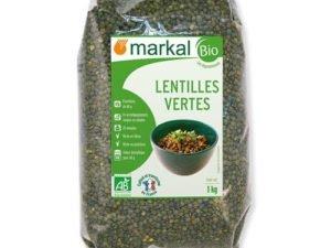 Organsko Sočivo Zeleno Markal 500g