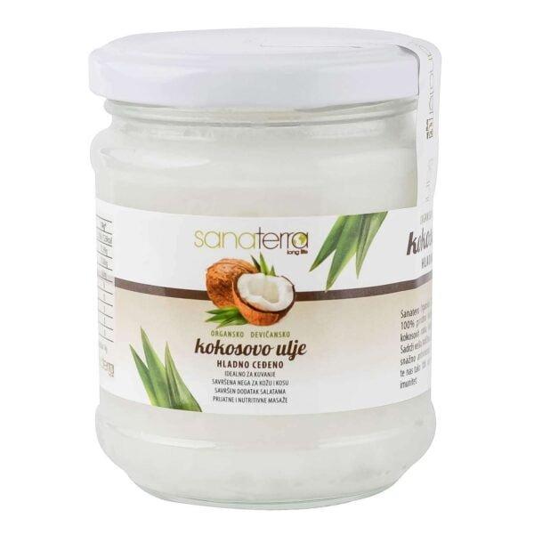 organsko kokosovo ulje sanaterra 150
