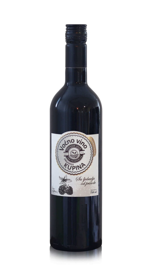 vocno vino od organske kupine profesor daus 750ml