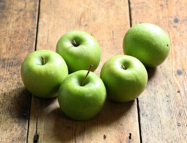 organske jabuke zelene
