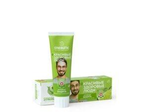 Synergetic Ekološka Pasta za Zube Bez Fluora Aktivna Zaštita Limeta i Menta 100g
