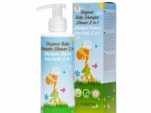 Organski Bebi Šampon i Kupka 2 u 1 AzetaBio 200ml