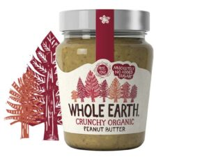 Organski Kikiriki Puter Krckav Whole Earth 227g