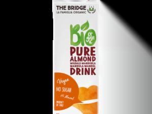 Organski Napitak od Čistog Badema Bez Šećera The Bridge 1L
