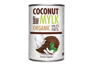 Organsko Kokosovo Mleko 6% masti Smart Organic 400ml