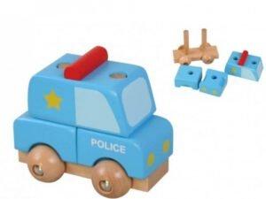 Slagalica Drvena Mini 3D Policija Pino