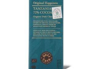 Organska Crna Čokolada Tanzania 72% Kakao Delicata 100g